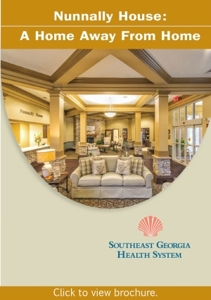 Nunnally House A Home Away from Home informative brochure